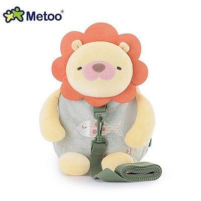Mochila Infantil Metoo com Alça de Segurança Leão