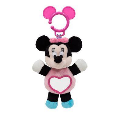 Pelúcia de Atividades Disney - Minnie Mouse com Espelhinho - Buba