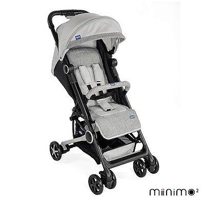 Carrinho de Bebê Miinimo 2 com Barra de Proteção Silver - Chicco