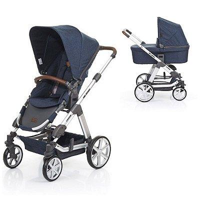 Carrinho de Bebê Travel System Condor 4 com Moisés Admiral ABC Design