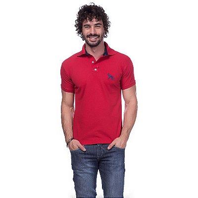 91291b6c2 Camisa Gola Polo Nike Vermelha - Loja na Grife