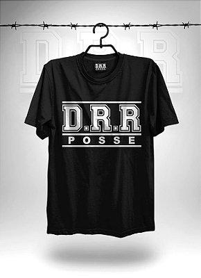 Camiseta Preta Clássica DRR POSSE