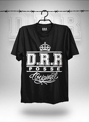 Camiseta Preta DRR POSSE ORIGINAL