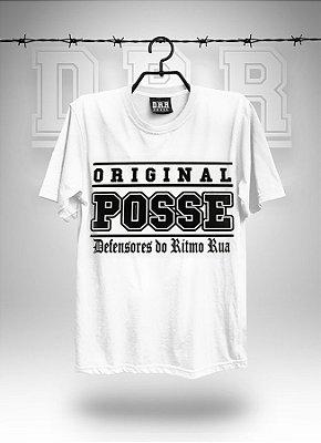 Camiseta Branca ORIGINAL POSSE