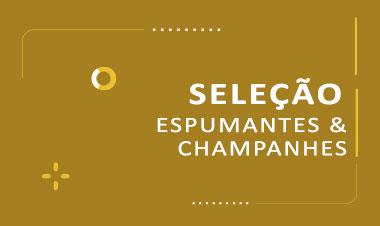 Seleção espumantes e champagne