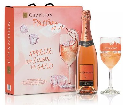 CHANDON PASSION ON ICE COM 2 TAÇAS