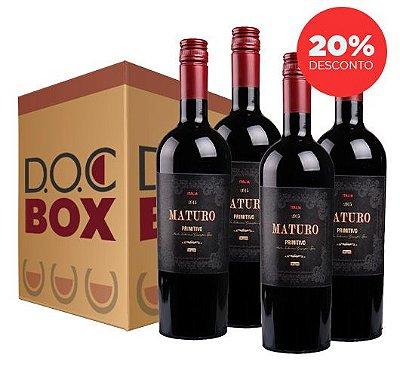 MATURO PRIMITIVO 2016 - DOC BOX 4 GARRAFAS