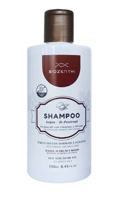 Shampoo Argan e D‐Pantenol Biozenthi
