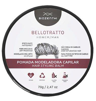 Pomada capilar BelloTratto Biozenthi