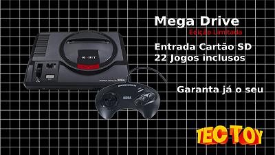 Mega Drive Edição Limitada