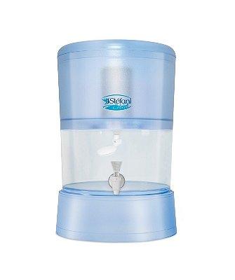 Filtro Stéfani Cristal 6 litros com 1 Vela Esterilizante Tripla Ação
