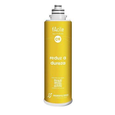 Refil Facile C9 - Reduz o Cálcio e o Magnésio - Hidro Filtros