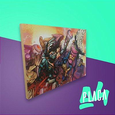 Placa A4 - X-Men