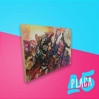 Placa A5 - X-Men