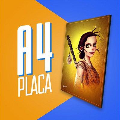 Placa A4 - Rey
