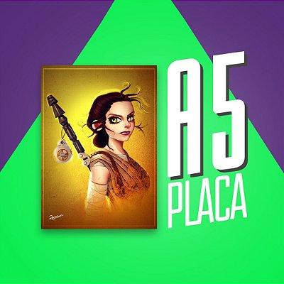 Placa A5 - Rey