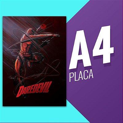 Placa A4 - Demolidor
