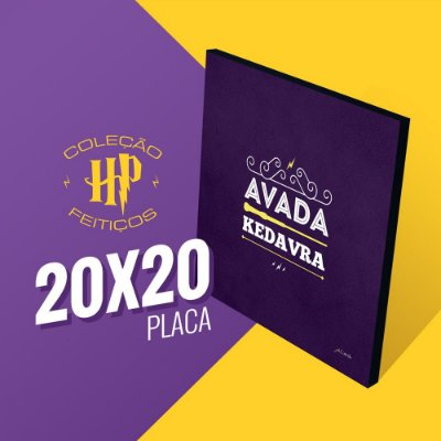 Harry Potter - Avada Kedavra - 20x20