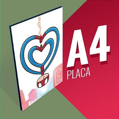 Placa A4 - SpiderKiss