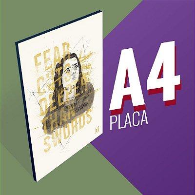 Placa A4 - Arya