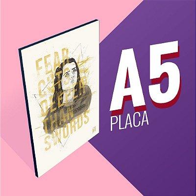 DUPLICADO - Placa A5 - Daenerys