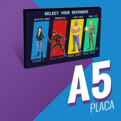 Select your Defender  - Placa A5