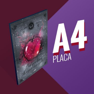 Placa A4 - Did you know shinigami loves apples?
