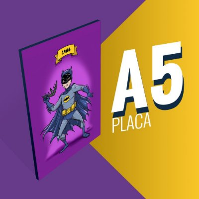 Placa A5 - Batman Adam West