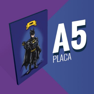Placa A5 - Batman Michael Keaton