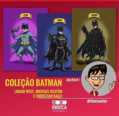 Coleção BATMAN - placas a5