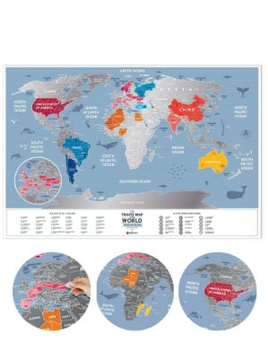 Mapa de Raspadinha Color 60x40