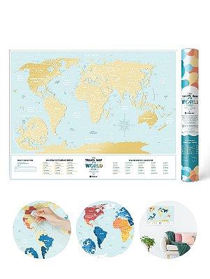 Mapa Mundi Raspadinha Lagoon