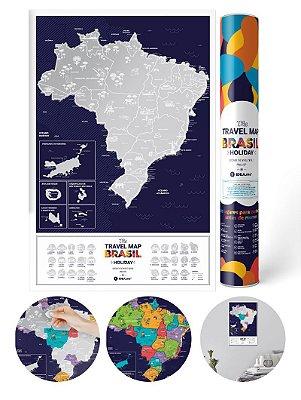 Mapa de Raspadinha do Brasil Silver
