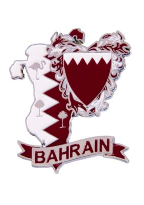 Imã Bahrein - Mapa Bahrein com Bandeira, Cidades e Símbolos