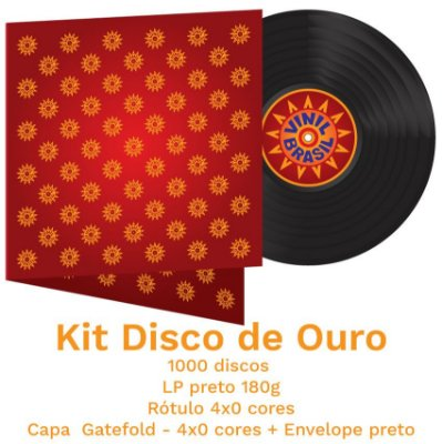 04 - Kit Disco de Ouro