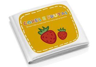 Livro de Banho - Cores e Frutas