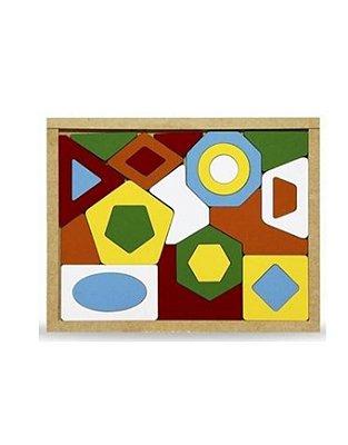 Quebra cabeça geométrico - 24 peças