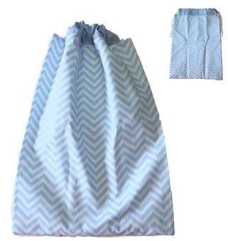Saco impermeável para roupa suja - AZUL