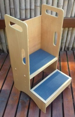 Escada infantil - Azul