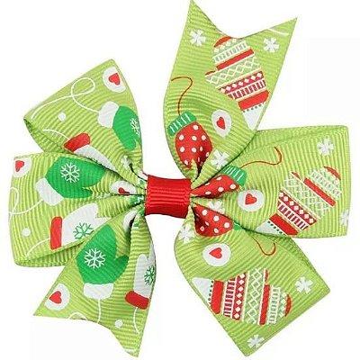 Laço - Natal Verde Luvinhas