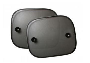 Protetor solar para carro PRETO - kit com 2 unidades
