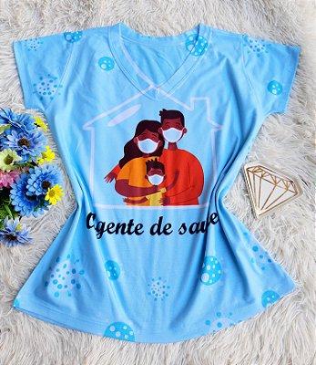 T shirt Feminina Profissão no Atacado Agente de saúde