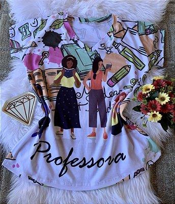 T shirt Feminina Profissão no Atacado Elementos professora