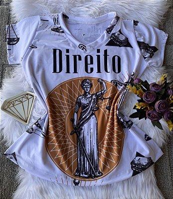 T shirt Feminina Profissão no Atacado Direito