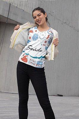 T shirt Feminina Profissão no Atacado elementos Saúde