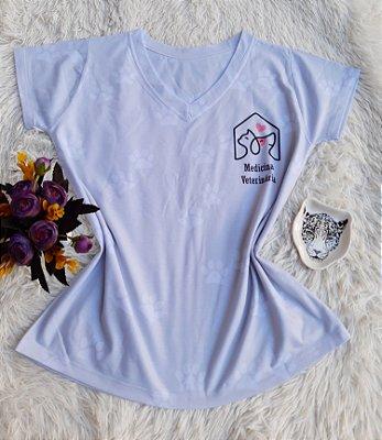 T shirt Feminina Profissão no Atacado Medicina veterinária fundo claro