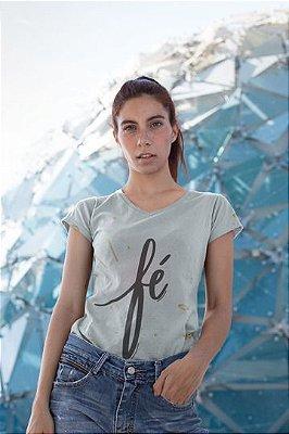 T shirt Feminina Religiosa no Atacado Fé