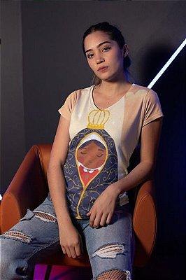 T shirt Feminina Religiosa no Atacado Nossa Senhora de Aparecida