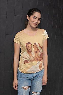 T shirt Feminina Religiosa no Atacado Sagrada Família