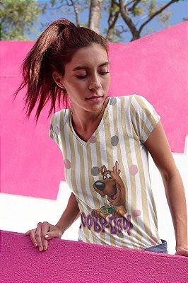 Camiseta Feminina Personagem No Atacado Scooby Doo